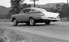 Car and Driver Tested: The Quickest Cars from the to Today 1958 Chevy Impala, Car And Driver, Automotive Design, Car Photos, Car Car, Cars Motorcycles, Cool Cars, Chevrolet, 1950s