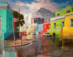 Lindy van Niekerk Art Gallery is an art gallery providing both corporate and private art services and products to Welgemoed, Cape Town and the greater South Africa Cityscape Art, Mountain Paintings, Art, South African Art, Cityscape Painting, Jobs In Art, South Africa Art, Street Artists, City Skyline Silhouette