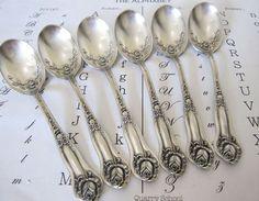 Victorian Rosedale Demitasse Spoons