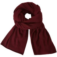 John Lewis Plain Knit Scarf (835 UAH) ❤ liked on Polyvore featuring accessories, scarves, claret, john lewis, knit shawl, wrap shawl, wrap scarves and knit scarves