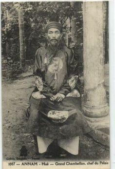 CPA Vietnam Indo Chine Annam HUÉ Grand Chambellan Chef DU Palais 50117 | eBay