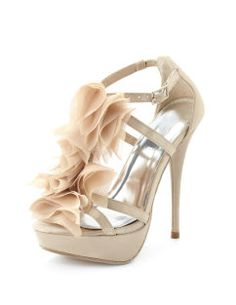 Ruffle shoe - Charlotte Russe Bridesmaid shoes- looks like the BM shoe but probably much more reasonable!