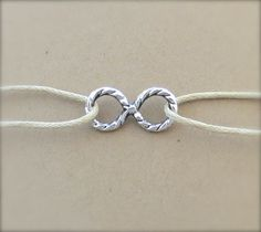 Endless Summer Infinity Anklet Bracelet by WaveofLife on Etsy, $12.00