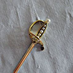 vintage sword stick pins with chain - Google Search