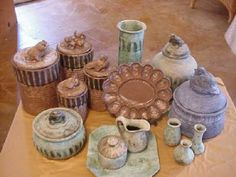 Peter's Pottery - I can never have enough!