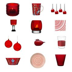 Finnish Design - Iittala for red lovers