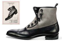 Finally! Ive searched for some years trying to find the design I had stuck in my head and now Ive found it! Japanese Bespoke Boot