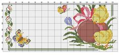 Easter Cross, Stitch 2, Cross Stitch Flowers, Projects To Try, Babies, Cross Stitch Embroidery, Cross Stitches, Moldings, Punto De Cruz