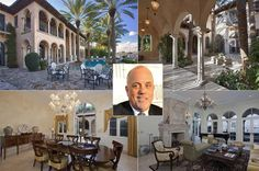 You may be right — paying $14.75 million for Billy Joel's spread in Miami Beach may be crazy. But it just may be the waterfront mansion you're looking for. Word comes from Real Estalker that the Grammy winner recently listed his estate on La Gorce Island, an exclusive enclave where stars like Cher and Shakira have lived. According to the listing, the seven-bedroom Mediterranean-style home has more than 150 feet of water frontage on Biscayne Bay. There's a patio with an outdoor kitchen…