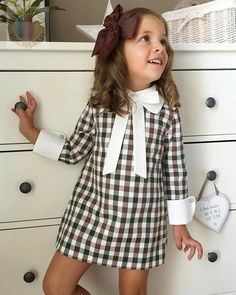 black and white lovers - Baby interests Little Girl Fashion, Toddler Fashion, Kids Fashion, Fashion Outfits, Dress Fashion, Style Fashion, Fashion Clothes, Latest Fashion, Little Girl Dresses