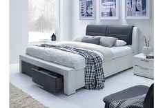 Manželská postel 160 cm - Halmar - Cassandra S (s roštem)