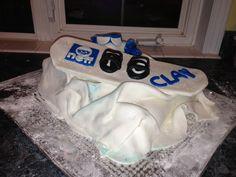 Snowboard Cake, neff