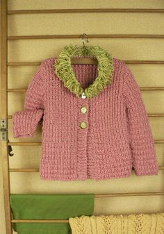 Free Knitting Pattern - Toddler & Childrens Clothes: Bellmoor Toddler Jacket