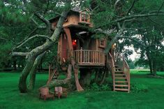 Build your kid a tree house!