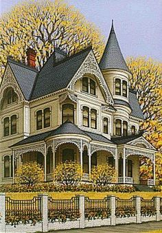 Victorian Home (Sue Wall)  Micoley's picks for #VictorianHomes www.Micoley.com  Micoley's picks for #VictorianHomes www.Micoley.com