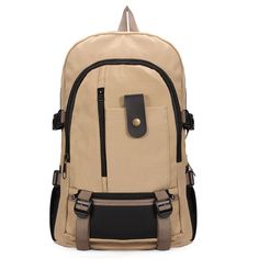Men Women Schoolboy Bag Leisure Large Capacity Canvas Backpack  Worldwide delivery. Original best quality product for 70% of it's real price. Hurry up, buying it is extra profitable, because we have good production sources. 1 day products dispatch from warehouse. Fast & reliable...