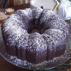 Bundt cakes are American cakes named after the Bundt tins in which they are baked. The original Bundt cake tin was produced by a small company in the States, where they are still made today. If you have a Bundt tin and want a chocolate cake - this is your recipe!