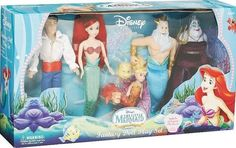 Disney 80's The Little Mermaid toys - Google Search