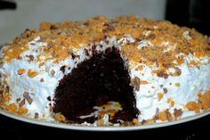 Butterfinger Cake Recipe! http://www.squidoo.com/chocolate-butterfinger-cake