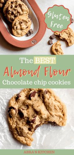Almond Flour Chocolate Chip Cookies Recipe in 2021