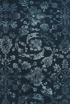 RugStudio presents Feizy Mahsa 8402f Navy Hand-Tufted, Best Quality Area Rug