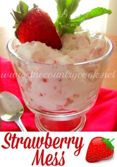Strawberry Mess http://www.thecountrycook.net/2011/04/eton-mess-royal-wedding.html#_a5y_p=1494936