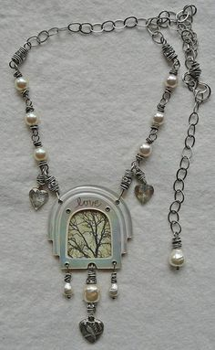 Nina Bagley beading and chain-