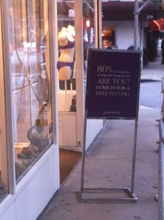 Inviting you for a free PRE-FITTING...@upper east side store