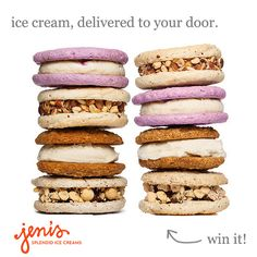 Giveaway: Ice Cream Sandwich Delivery from Jeni's Splendid Ice Creams | Turntable Kitchen @Jen Inumerable's Splendid Ice Creams