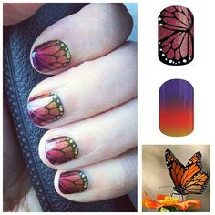 What a creative combo!! Check out what it looks like when you layer Adam's Favorite Tint Wraps over Butterfly Kisses Wraps!! I am in LOVE!! This is on my next order for sure!! What do you think?? #jamberry #jamberrynails #buy3get1free #B3G1 #B3G1Free #butterflykissesjn #adamsfavoritejn #adamsfavoritetintjn #butterfly #butterflies