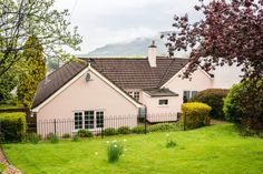 Spacious, secure dog friendly private garden at our holiday cottage Maxwelton, Porlock Log Burner, Private Garden, Dog Friends, Bbq, Relax, Cottage, The Unit, Cabin, House Styles