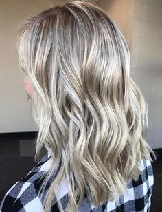 Platinum Silver Hair Colors for Medium Hairstyles 2018 Softly Rooted