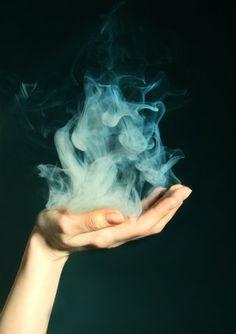 smoky hand