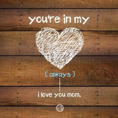 Missing My Mom