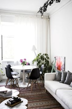Style and Create — Lovely Moscow apartment with a Scandinavian touch by the owners of the design studio Crosby Studios | Styling by Isabelle Mcallister | Photo by Jenny Brandt, published in Residence Magazine