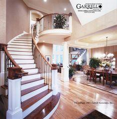 Garrell Associates, Inc. Lansdowne Place House Plan # 01068 Stairs, Design by Michael W. Garrell
