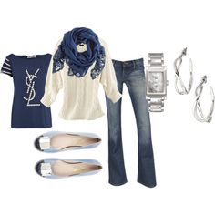 cool spring wear, created by godsprodigaldaughter on Polyvore