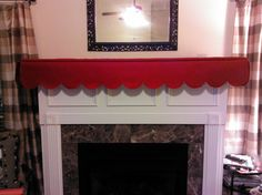 9 best mantle scarf images xmas christmas mantles christmas mantels rh pinterest com