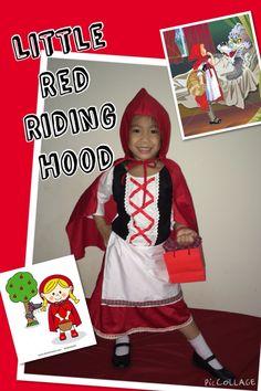 DIY Little Red Riding Hood costume