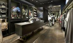 VILA Clothes shop by Riis Retail, Vimmelskaftet Copenhagen   Denmark store design --cash wrap