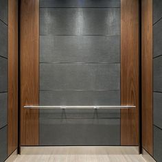 Our maintenance friendly materials bring functionality + style to the elevator interiors at @twelvetwelvegulch . . . #elevator #elevatordesign #elevatorinterior #interiorstyle #interiordesign #designinspiration #projectspotligh #architectural #materials #surfaces