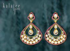 Earrings by Kalajee Jewellery