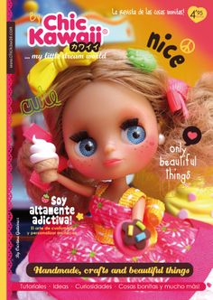 Revista Chic Kawaii, cute Blythe. Blythe magazine.