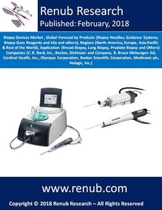 """Biopsy Devices Market Globally is projected to reach USD 3 Billion, experiencing a significant growth from 2018 to 2024. Renub Research report titled """"Biopsy Devices Market, Global Forecast, by Products (Biopsy Needles, Guidance Systems, Biopsy Guns Reagents and kits and others), Regions (North America, Europe, Asia-Pacific & Rest of the World), Application (Breast Biopsy, Lung Biopsy, Prostate Biopsy and Others) Companies"""" provides a complete analysis of Global Biopsy Devices Market."""