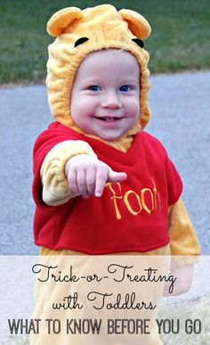 12 tips to ensure a safe, fun Halloween for little kids. Read this before you take your toddler trick-or-treating!