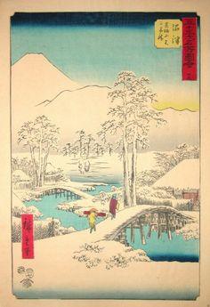 Hiroshige (1797 - 1858) | Numazu 1855 | $7200