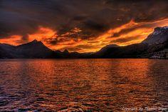 Sunrise  Vierwaldstättersee, Switzerland