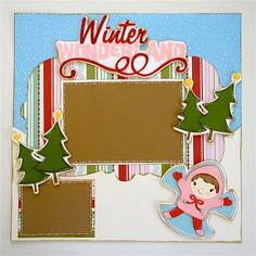 lots of great layout ideas with instructions from start to finish.  All with the cricut :)