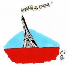 attentats, paris, tour eiffel, terrorisme, islam, mer de sang, fluctuat nec mergitur, chrib, islamisme, bataclan