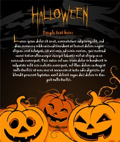 Happy Halloween Night Background 03 Vector Set ...